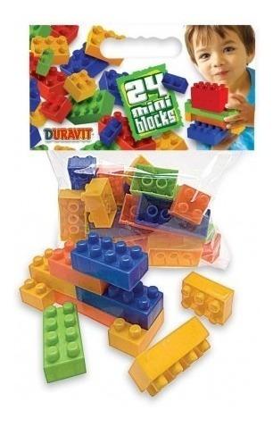 balde blocks ladrillos chicos por 120piezas duravit 661