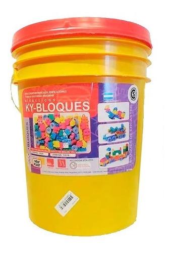 balde bloques ladrillos encastre new plast ky 240 p cadia