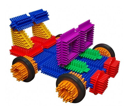 balde bloques tipo daki crico 150 piezas con ruedas en cadia