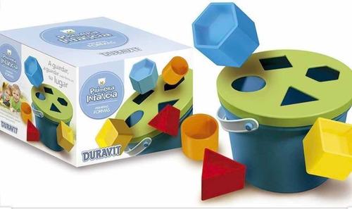balde de encastre primeras formas duravit july toys