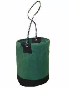balde de lona verde para ferramentas fibra temos bolsa