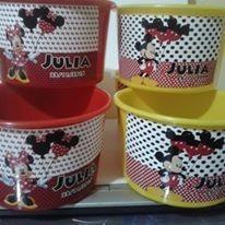balde de pipoca 1 litro kit com 10 unidades