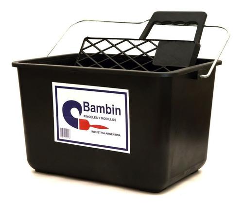 balde de plástico 8 litros bambin para rodillo mm