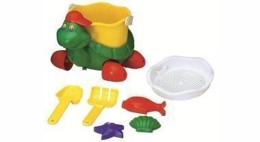balde de praia tortuga