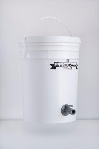 balde fermentador 20lts con canilla y soporte p. airlock