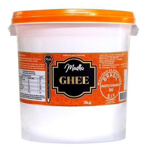 balde manteiga ghee 3kg - madhu bakery