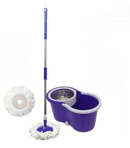 balde mop 360° segma centrifuga inox com 5 refil esfregão
