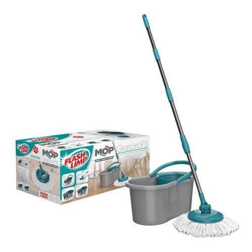 balde mop giratório fit