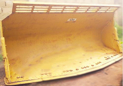 balde para cargador frontal caterpillar 980, modelo roquero.