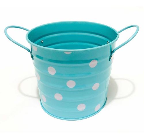 baldes metálicos decorativos
