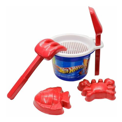 baldinho de praia hot wheels lider brinquedos