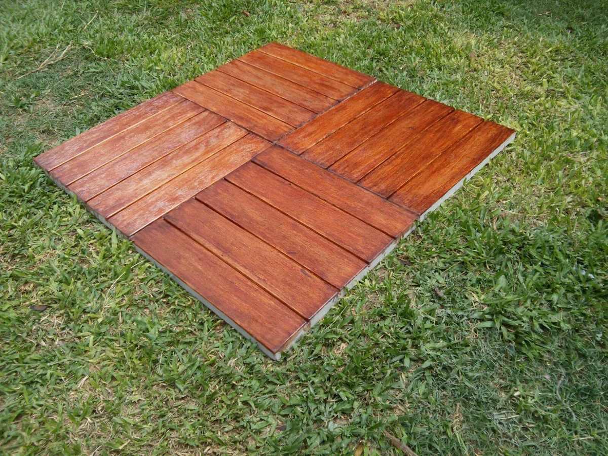 Baldosas de cemento para exterior trendy pisos de cemento para exterior with baldosas de - Baldosa madera exterior ...