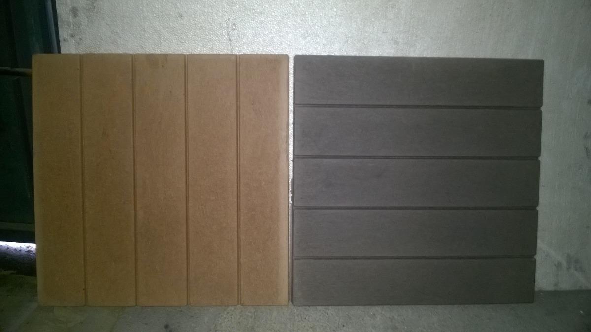 Baldosas exterior simil madera 420 00 en mercado libre - Baldosas madera exterior ...