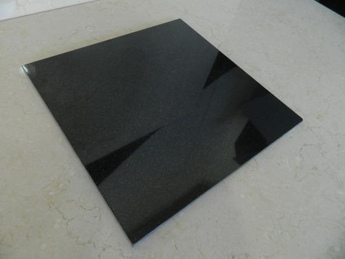 baldosas granito negro pulido - revestimientos