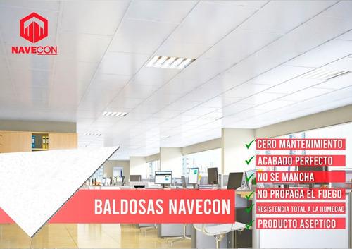 baldosas termo acústicas pvc - cielo raso drywall bpa haccp