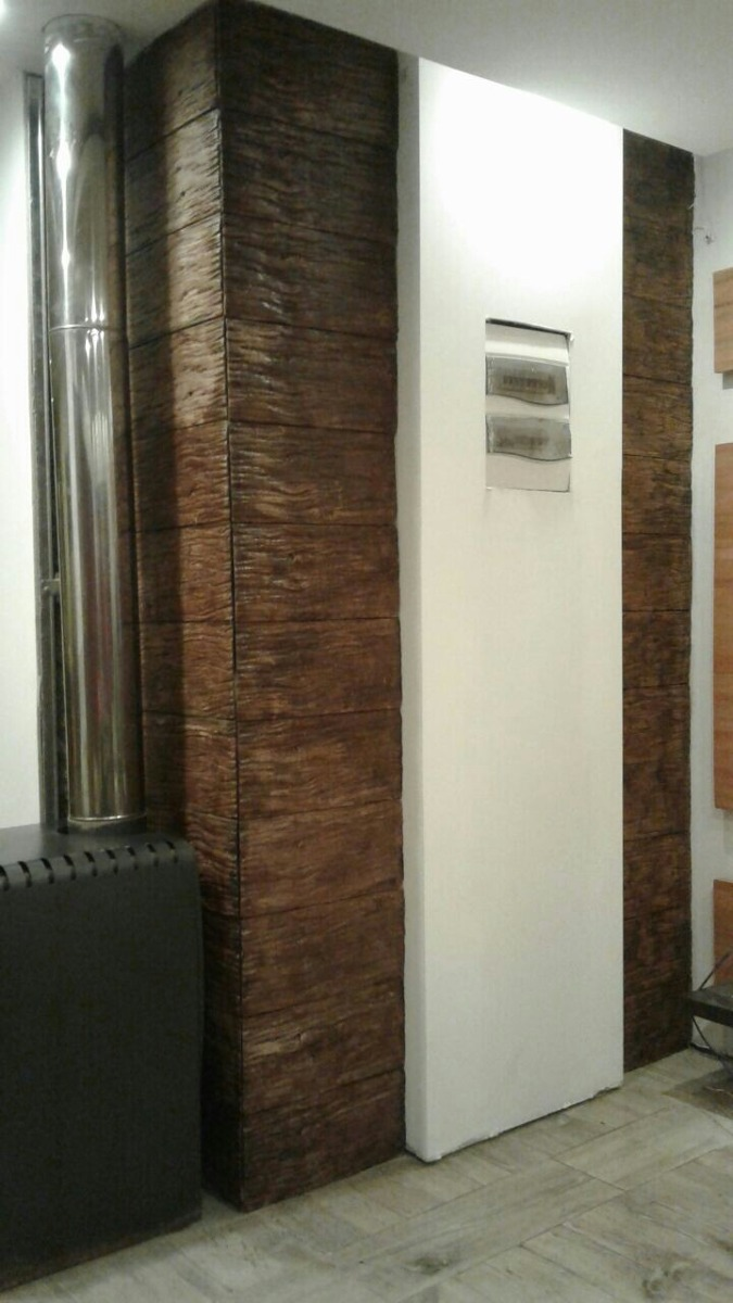 Cargaderos de hormigon imitacion madera great columnas y - Hormigon imitacion madera ...