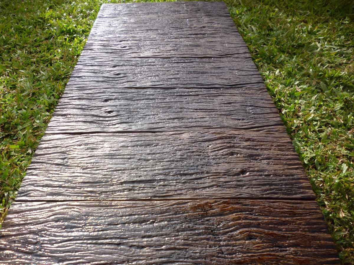 Baldosones de hormigon imitacion madera 55 00 en for Baldosones de cemento