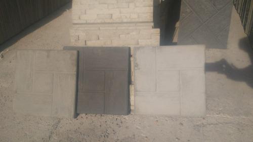 baldosones hormigon laja española para pisos patios garajes