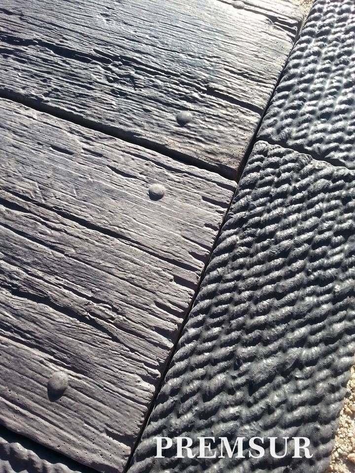 Baldosones hormig n madera baldosas decks exclusivos for Baldosones de cemento
