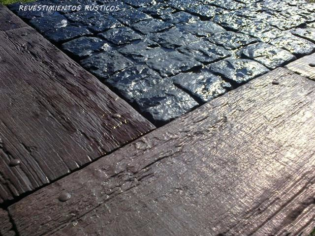 Baldosones hormig n madera baldosas decks exclusivos - Baldosas de madera para exterior ...