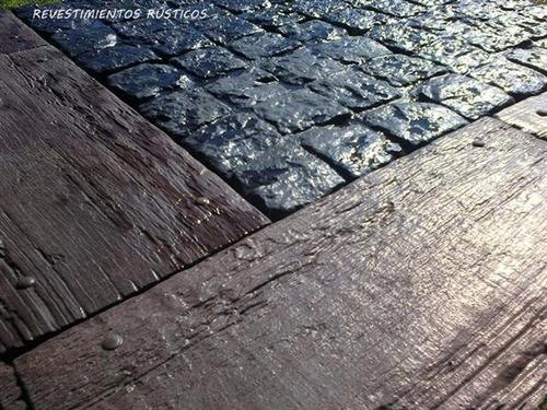 baldosones hormigón - madera baldosas decks  exclusivos