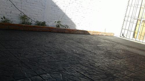 baldosones y baldosas hormigón pisos patios veredas garajes