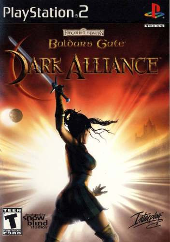 baldur´s gate / dark alliance  /  playstation 2 /  ps2