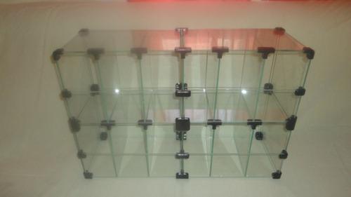 baleiro em vidro temperado 4mm expositor