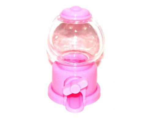 baleiro giratório mini p/ lembrancinhas festa infantil rosa