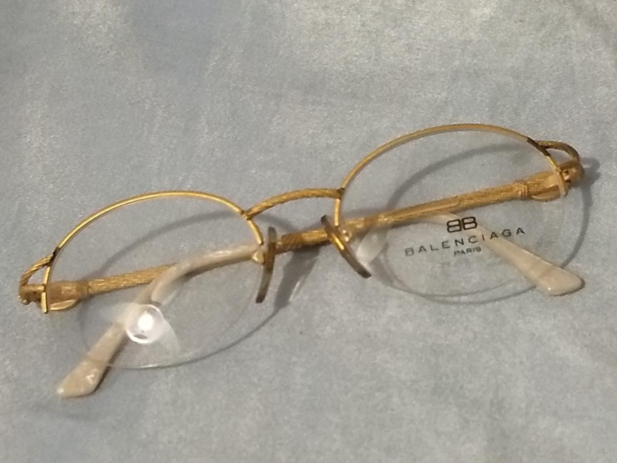 a8b1762f1 Balenciaga Armação Óculos Francesa B03 48 19 Sem Uso - R$ 150,00 em ...