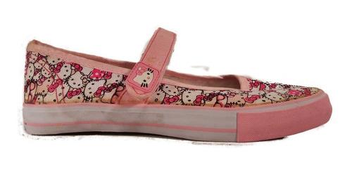 balerina lona hello kitty niña ultimos pares shoestore