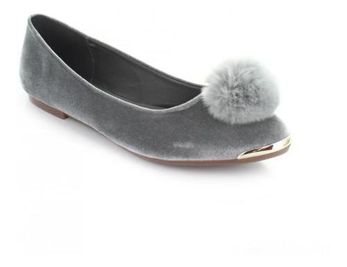 balerina para mujer clasben 160380-040544 color gris