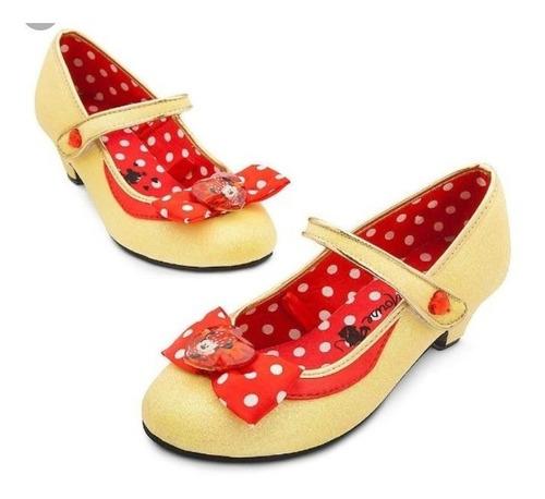 balerinas zapatos niñas minnie unica talla 30-32