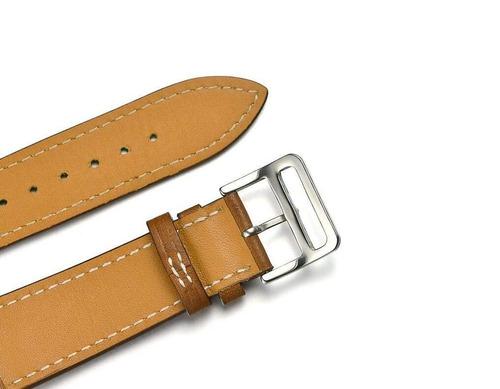 balerion - solo banda de reloj gira, lujo genuino cuero relo
