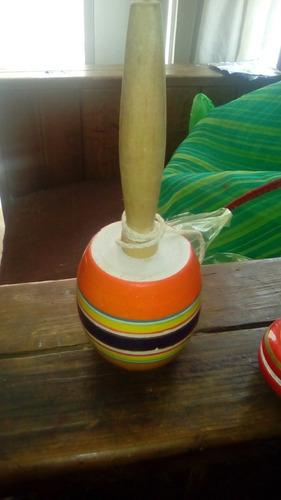 balero y yoyo de madera, hecho a mano, envio x dhl , nuevo