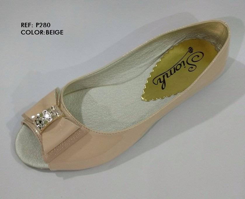 new style b92b3 9bf64 Baleta Calzado Abierta Dama Mujer Gratis Beige Zapato Envío waFZwgqSx