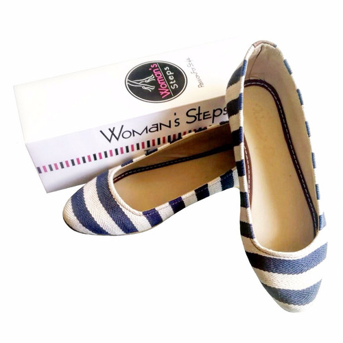 baletas woman's steps azul