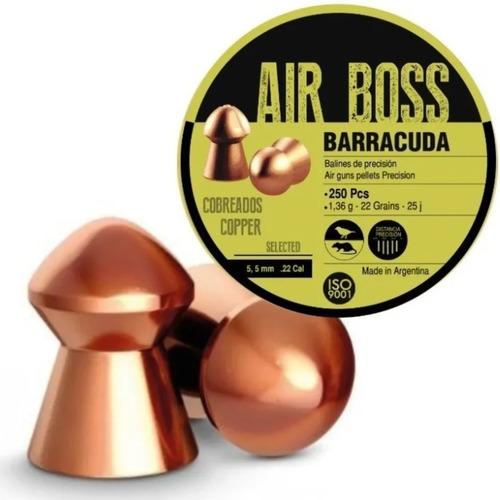 balines air boss apolo 5.5 x250 aire comprimido 22 grains