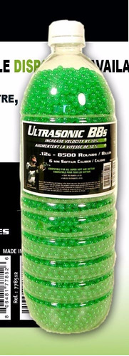 balines airsoft swiss arms plásticos botella por 8500 0.12gr