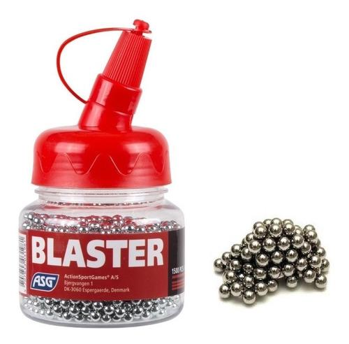 balines asg blaster de acero bb cal.4.5mm x 1500 para co2º