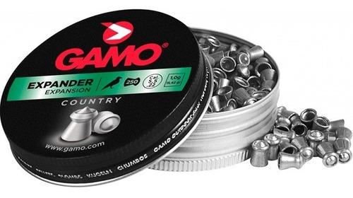 balines gamo expander 5.5mm x 500un 2 latas agente oficial