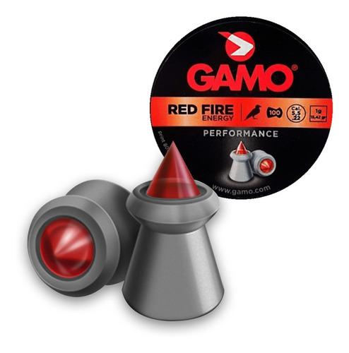 balines gamo red fire 4.5mm x  caja de 125 unico importador