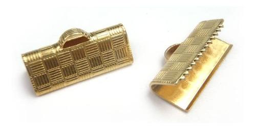 balines plásticos dorados para bisutería y mas