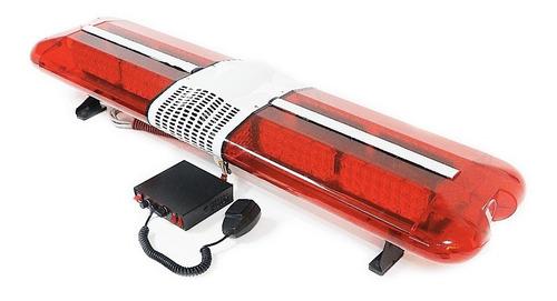 baliza barral ranger 909 120cm 12v y 24v con sirena federal