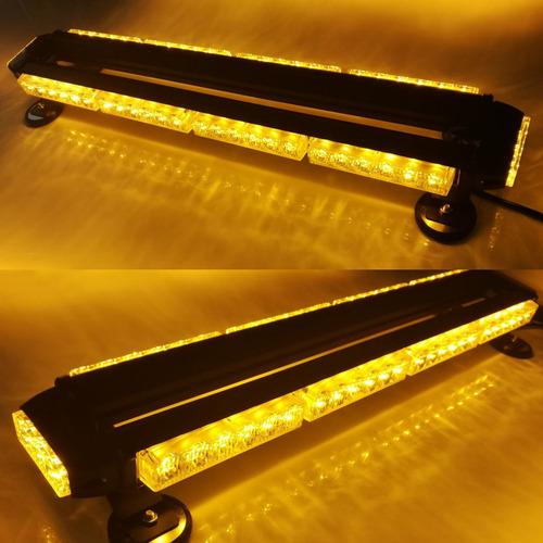baliza barral ranger mod 1214-4 65cm 54 optileds ambar metal