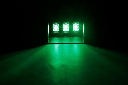 baliza de led 1106a para parabrisa 3w wide angle 12v verde