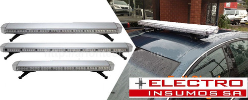 baliza de led barral ei901-88 optileds120cm ambar 12v y 24v