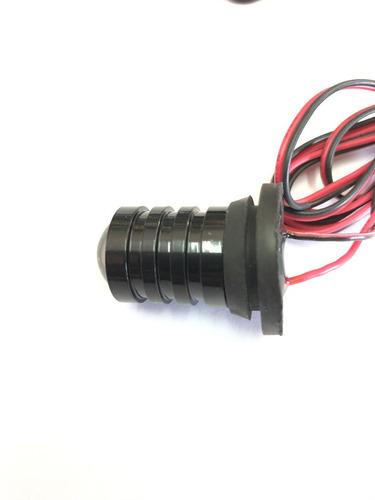 baliza de led ei1021-4b blanco para opticas  control remoto