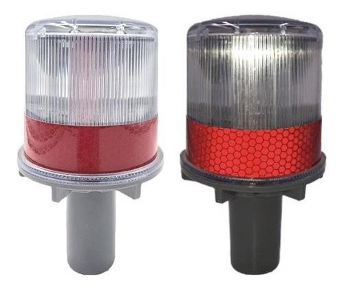 baliza de led solar para torre modelo 156 auto led recargabl