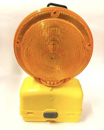 baliza led ei-6vb intermitente bateria recargable ambar
